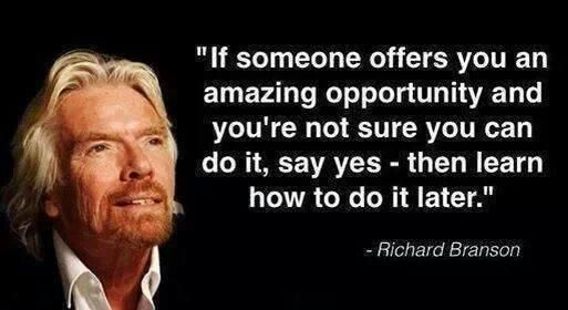 Richard Branson opportunity quote